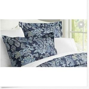 Pottery Barn Blue Palampore Reza Pillowcase Sham